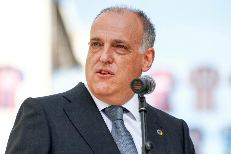 La-Liga-Präsident Tebas kritisiert restlichen Super-League-Klubs scharf