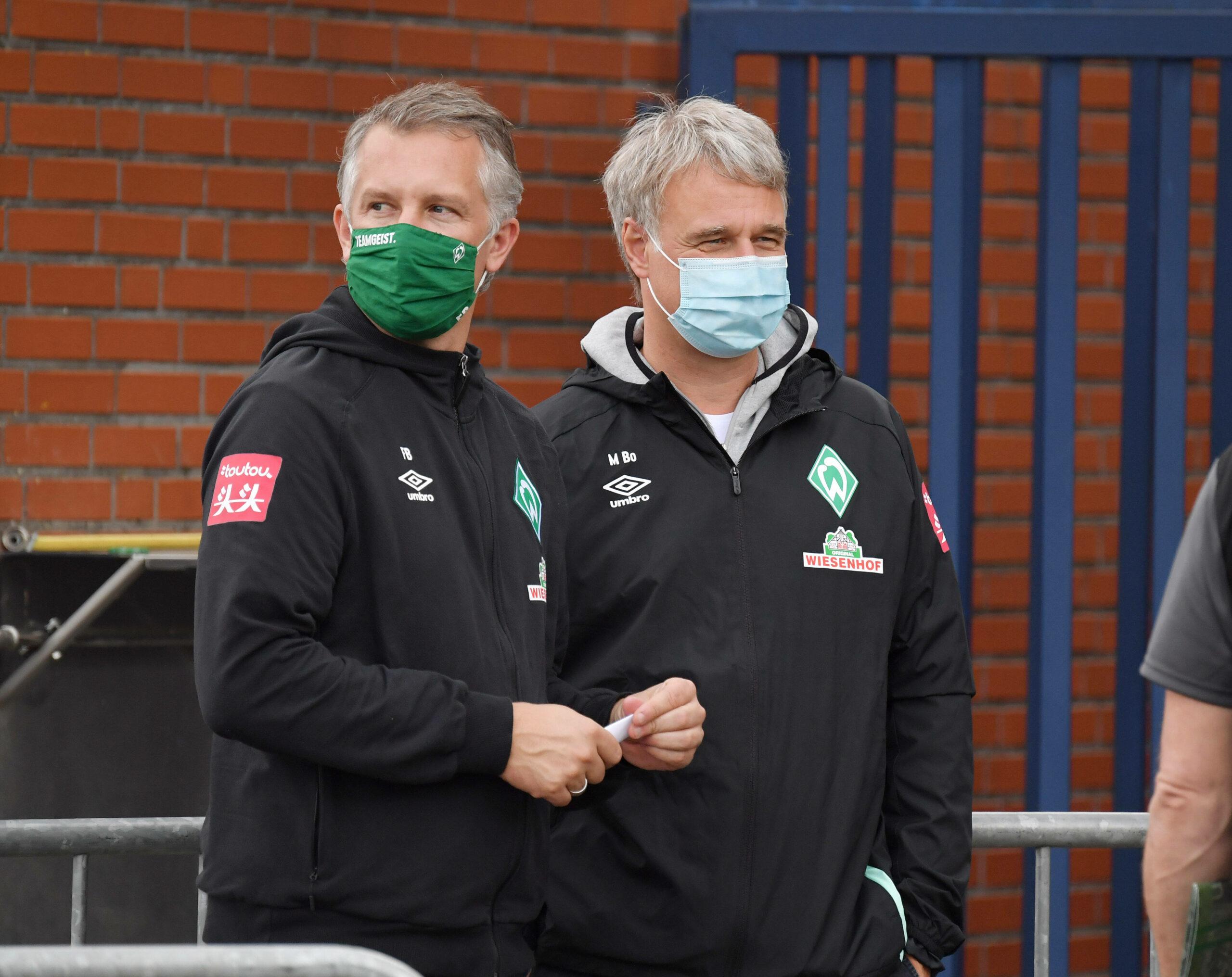 Frank Baumann (Werder Bremen) Marco Bode (Werder Bremen)