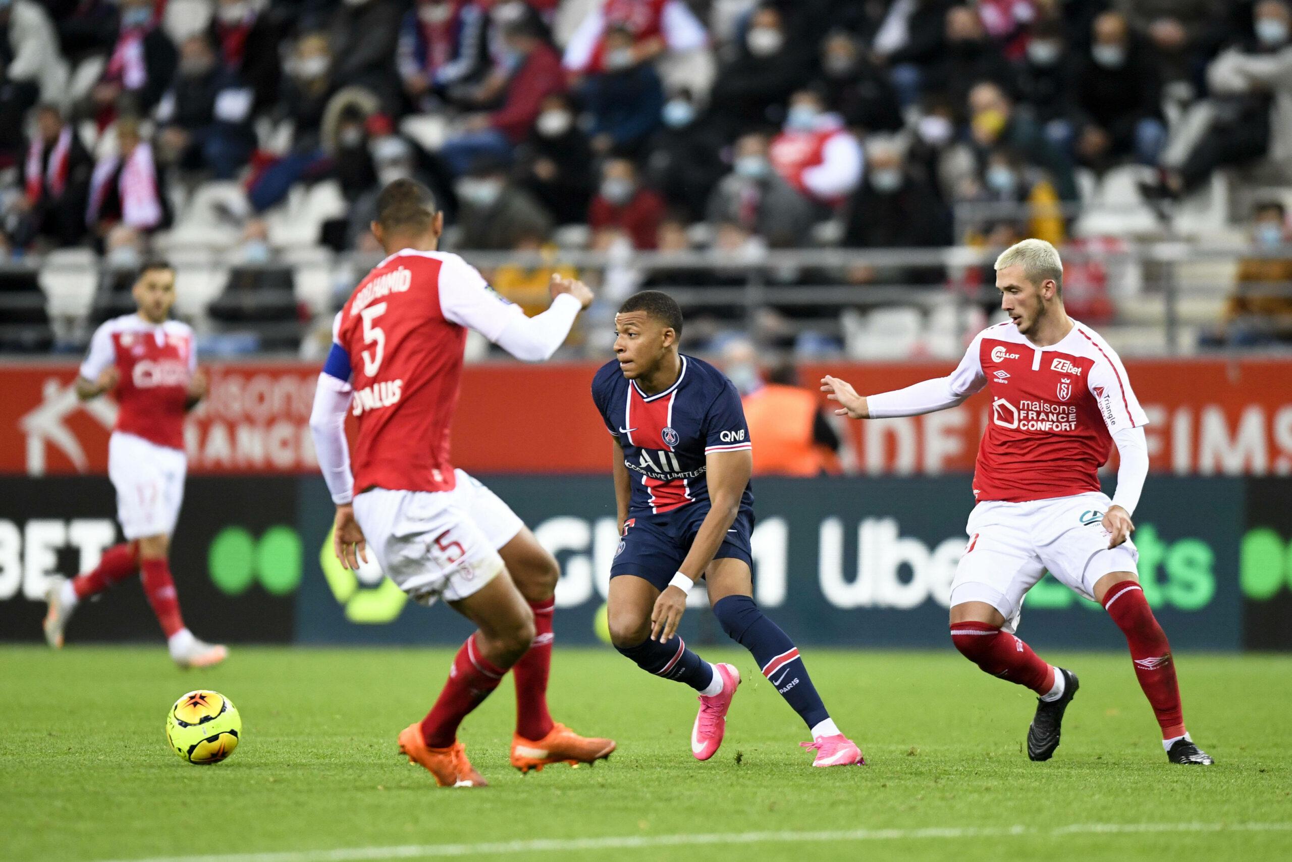 Kylian Mbappé (PSG) gegen Reims