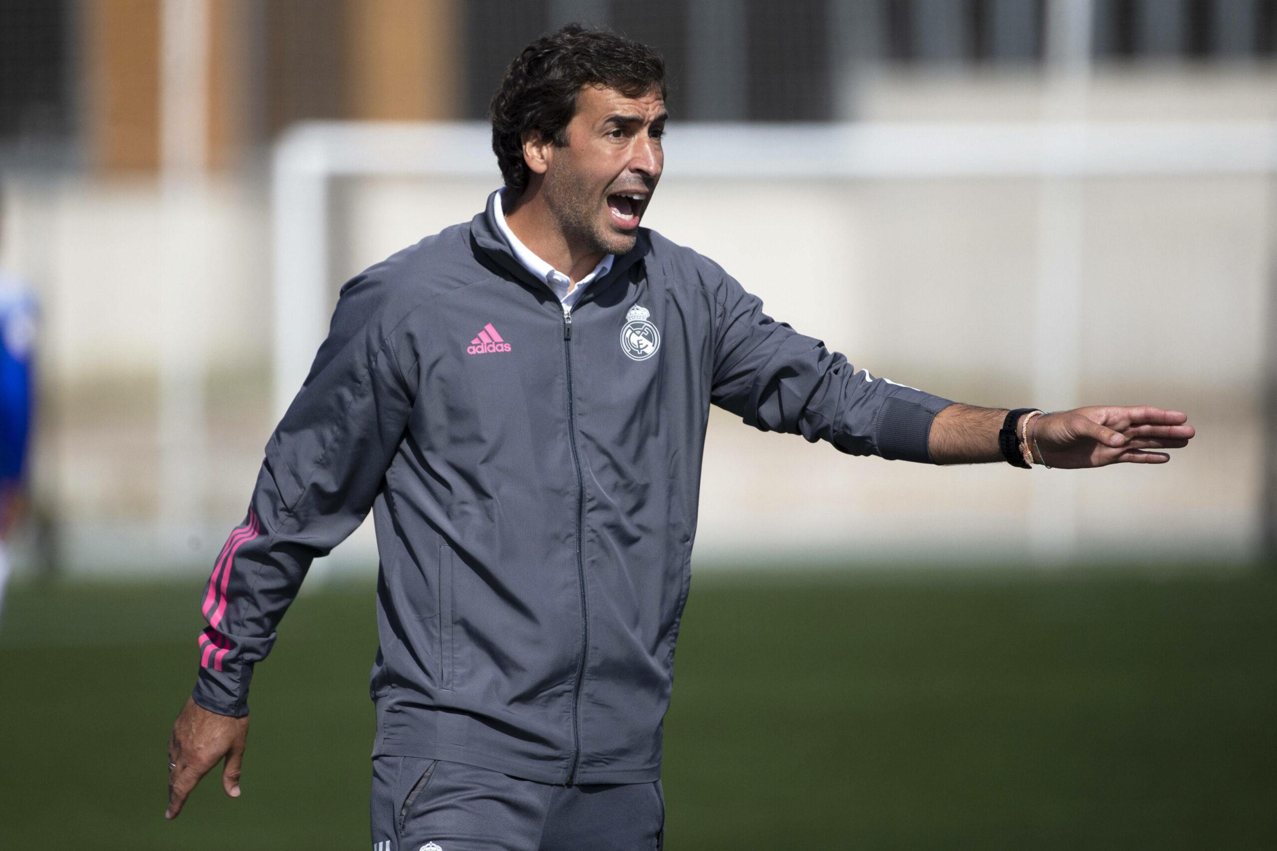 Raúl González Blanco (Real Madrid) trainiert