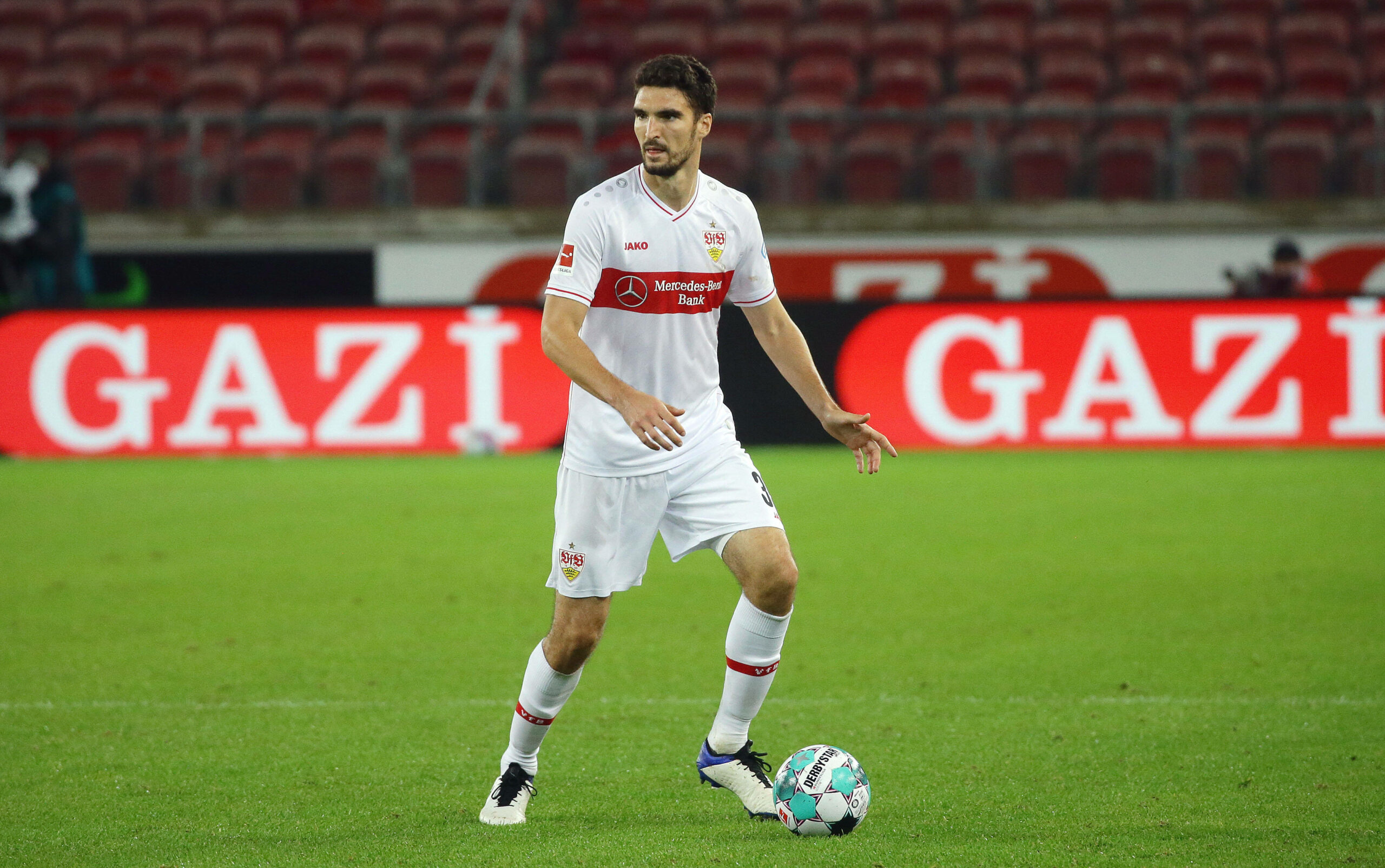 Kaminski (VfB Stuttgart) gegen Köln