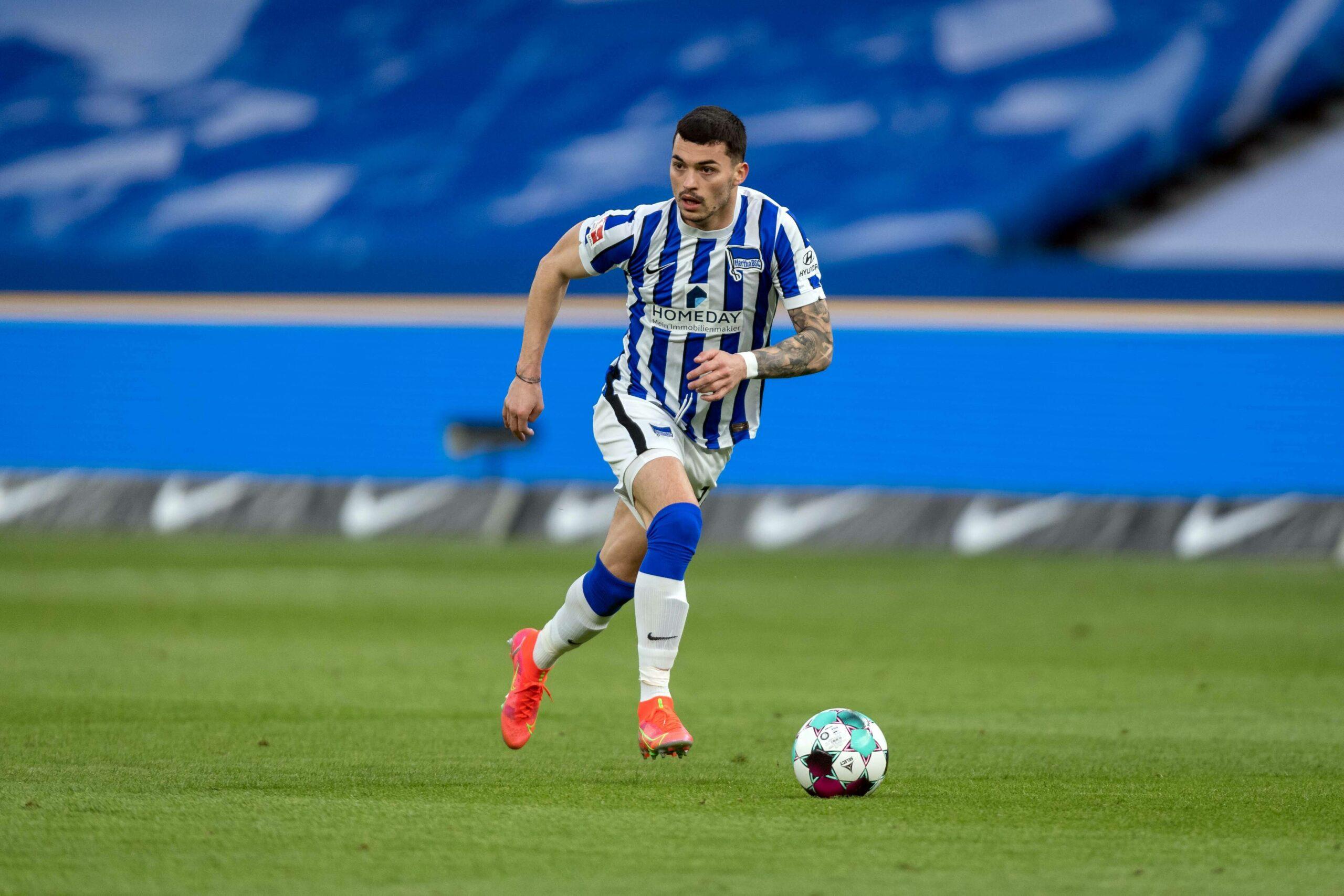 Nemanja Radonjic ist von Olympique Marseille an Hertha BSC verliehen