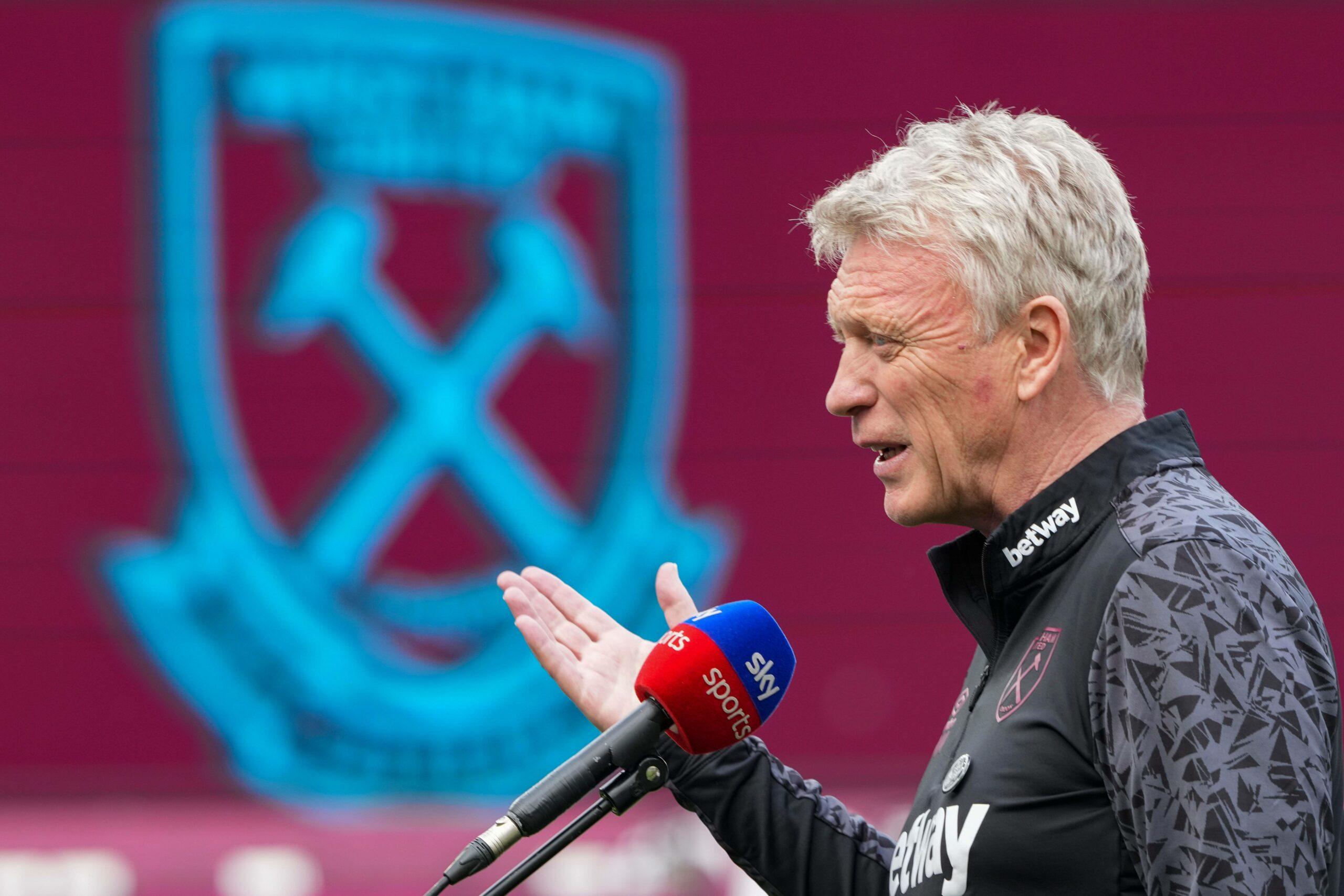 David Moyes, Trainer von West Ham United