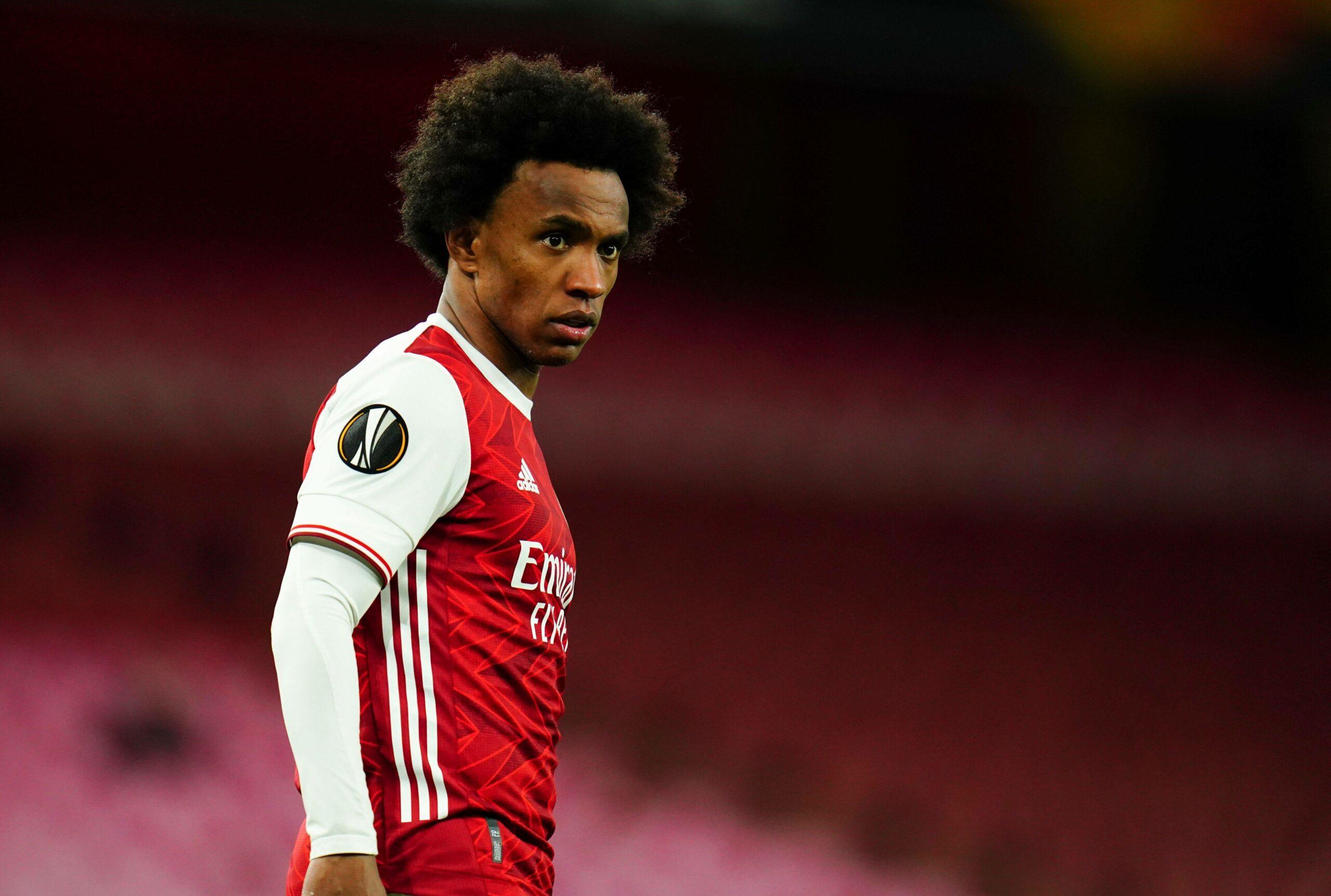 Willian wechselte erst im Sommer 2020 von Chelsea zu Arsenal