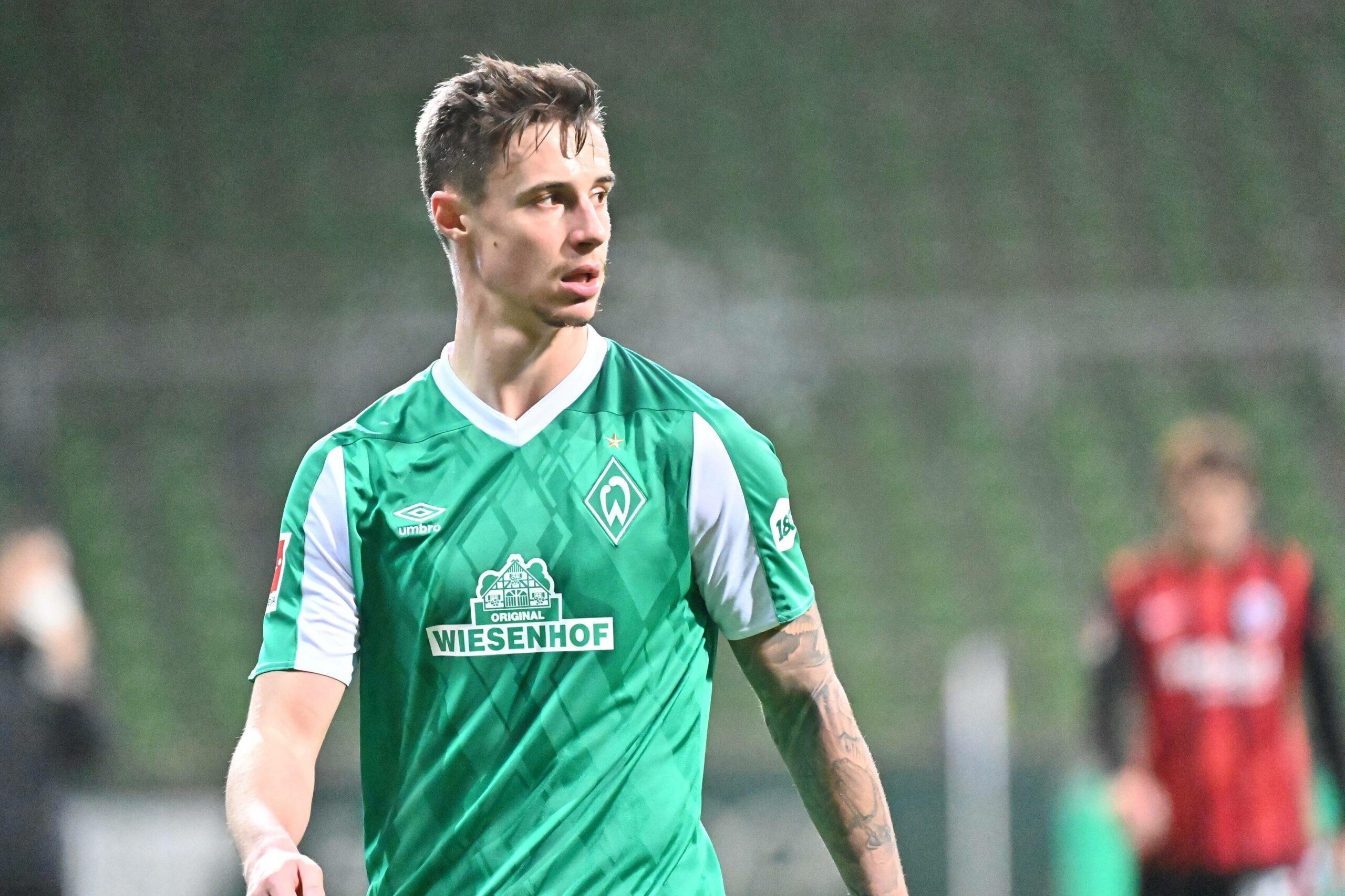 Friedl (Werder) gegen Frankfurt
