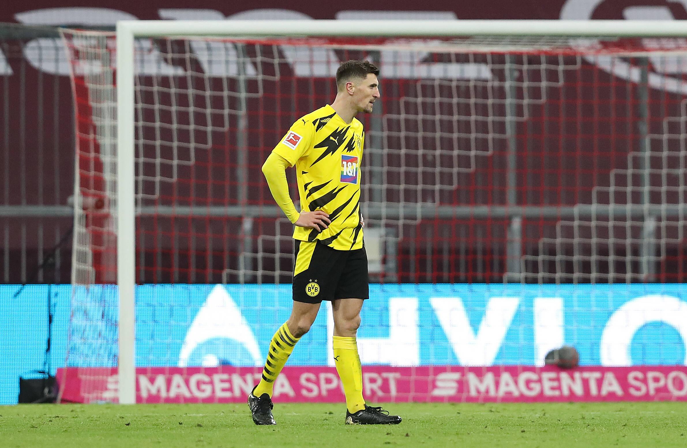 Meunier (BVB) gegen Bayern