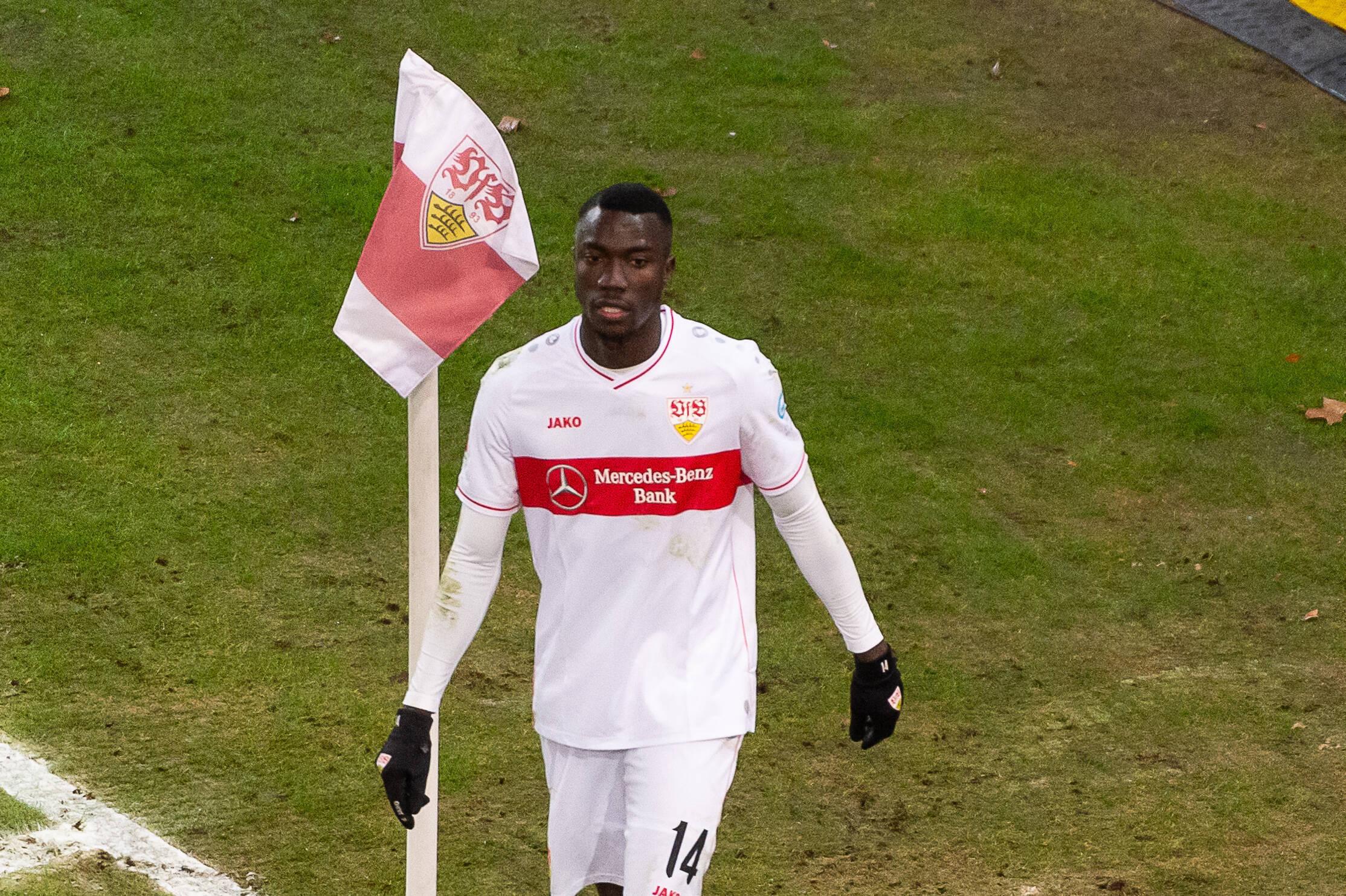 Silas Katompa Mvumpa (VfB Stuttgart) gegen Hoffenheim