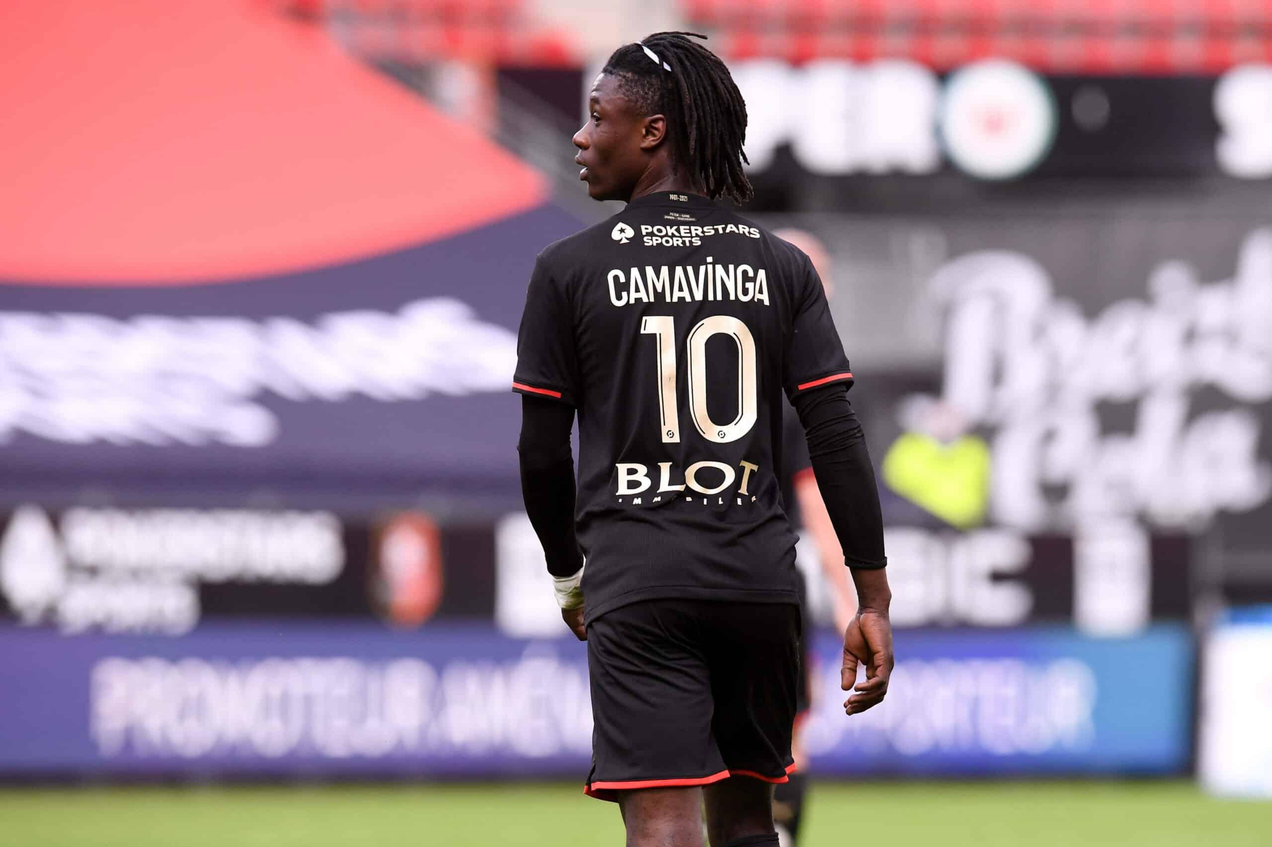 Camavinga (Rennes) gegen Straßbourg