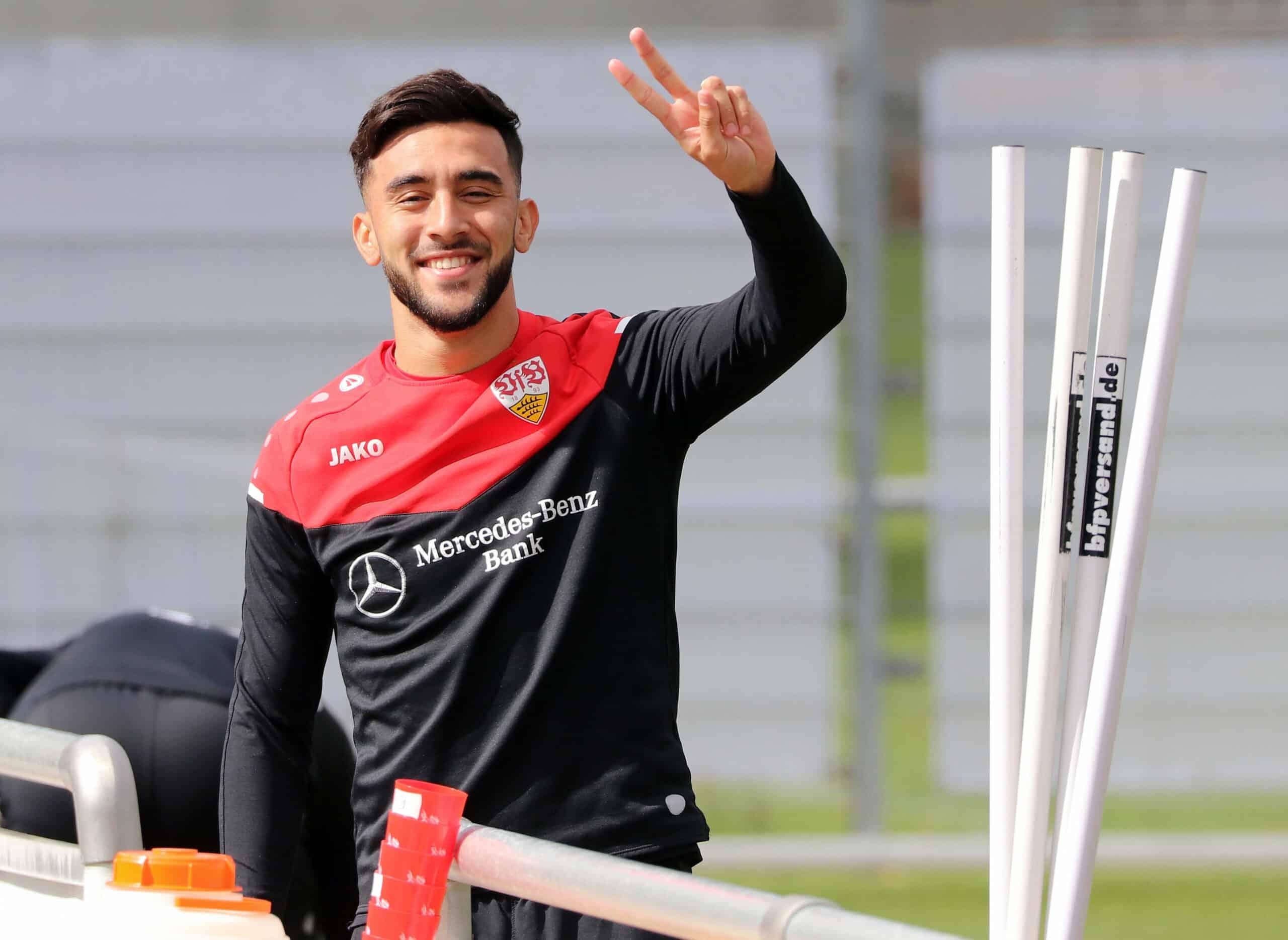 González (VfB Stuttgart) Training