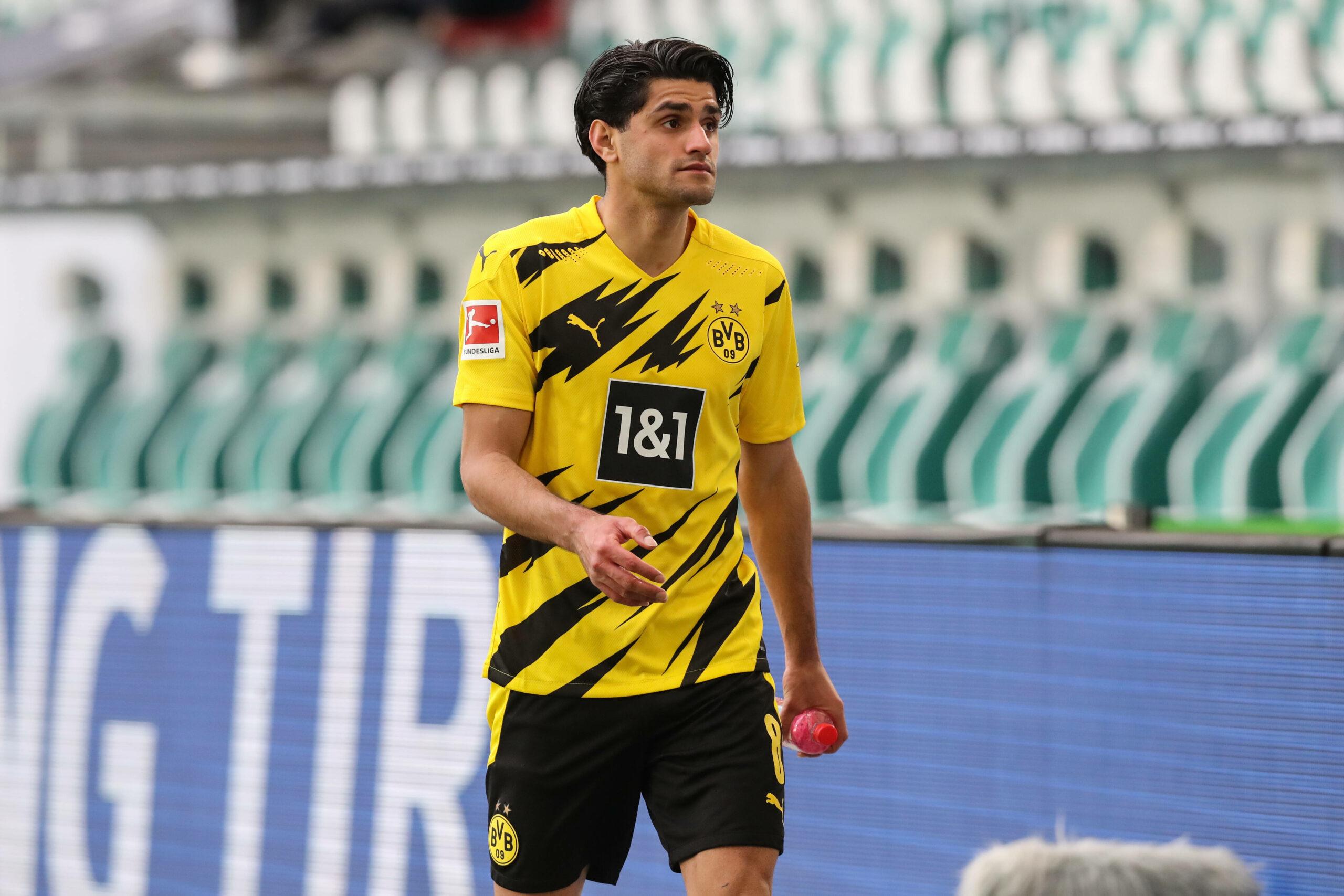 Mahmoud Dahoud (Borussia Dortmund) gegen Wolfsburg