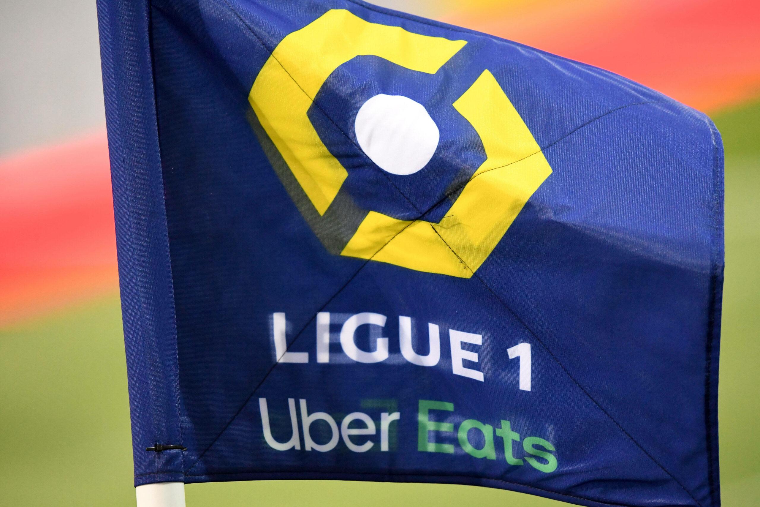 Ligue 1 Logo Fahne