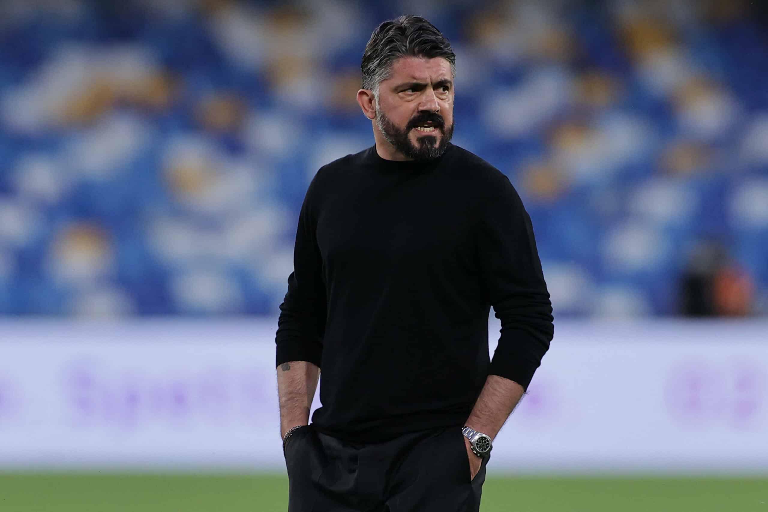 Gennaro Gattuso schaut grimmig
