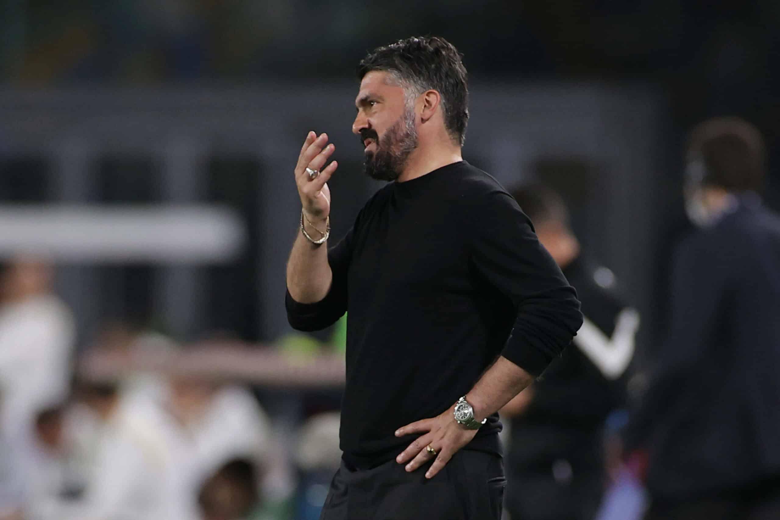 Gennaro Gattuso verärgert