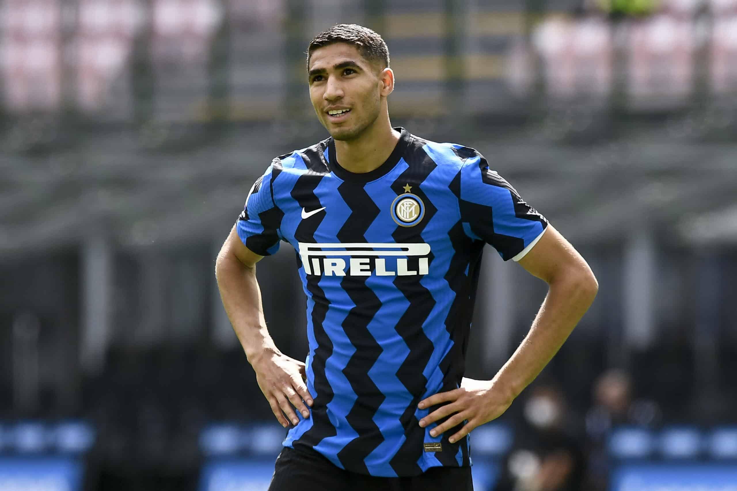 Hakimi (Inter) gegen Udinese
