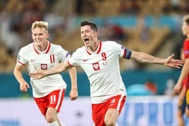 EM 2021 |Lewandowski trifft! Spanien nur Remis gegen Polen