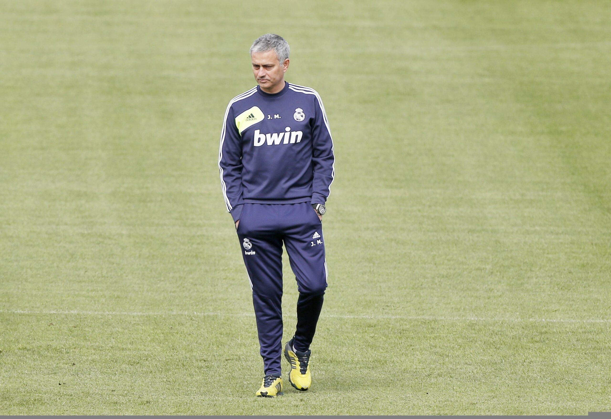 José Mourinho (Real Madrid) im Training