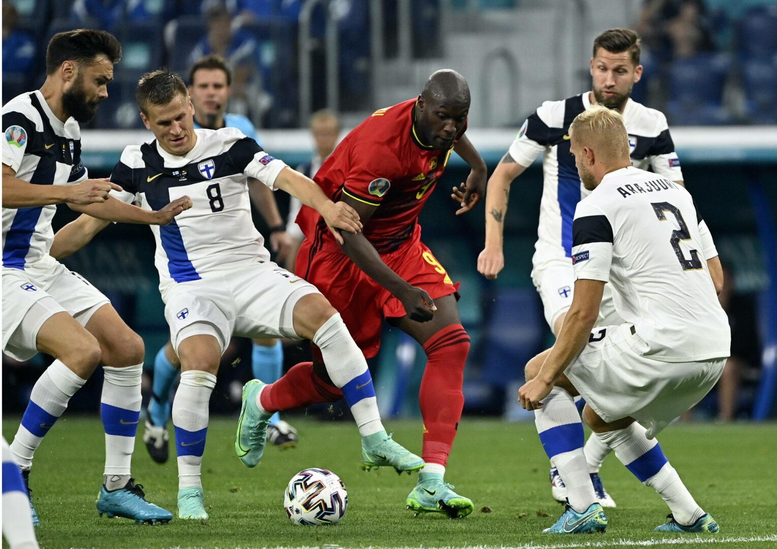 EM 2021: Belgien zwingt Finnland in die Knie