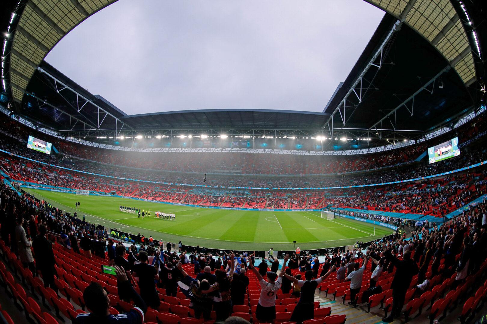 EM 2021 | Halbfinale & Finale in Wembley vor über 60.000 Zuschauern