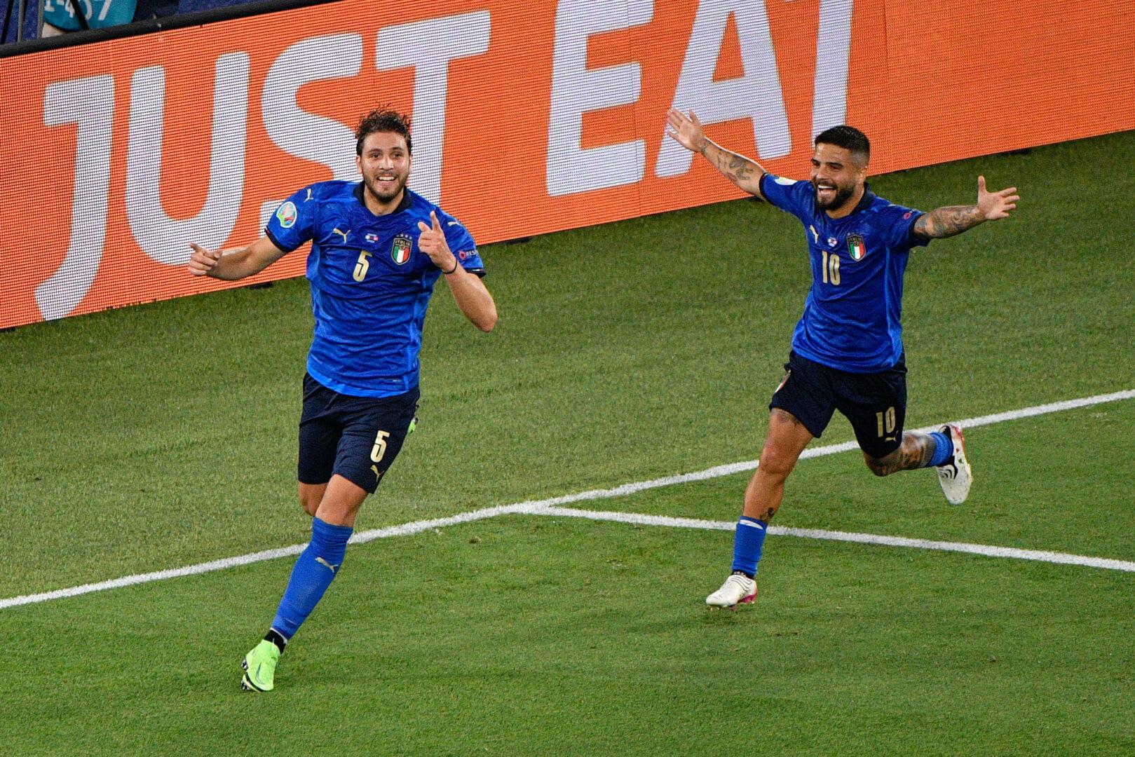 EM 2021 | Die Elf der Vorrunde: Viel Italien, viel Niederlande & einmal Deutschland