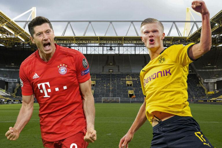 Bayern | Haaland könnte Lewandowski in einem Jahr ersetzen!