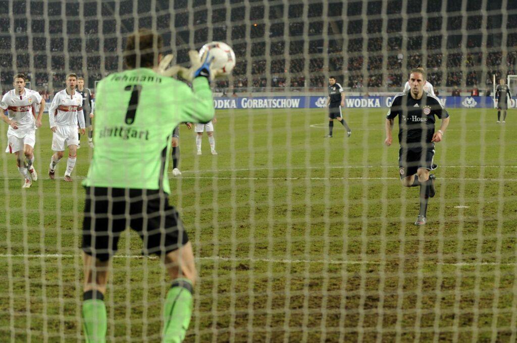 Ribéry (FC Bayern) scheitert mit Panenka