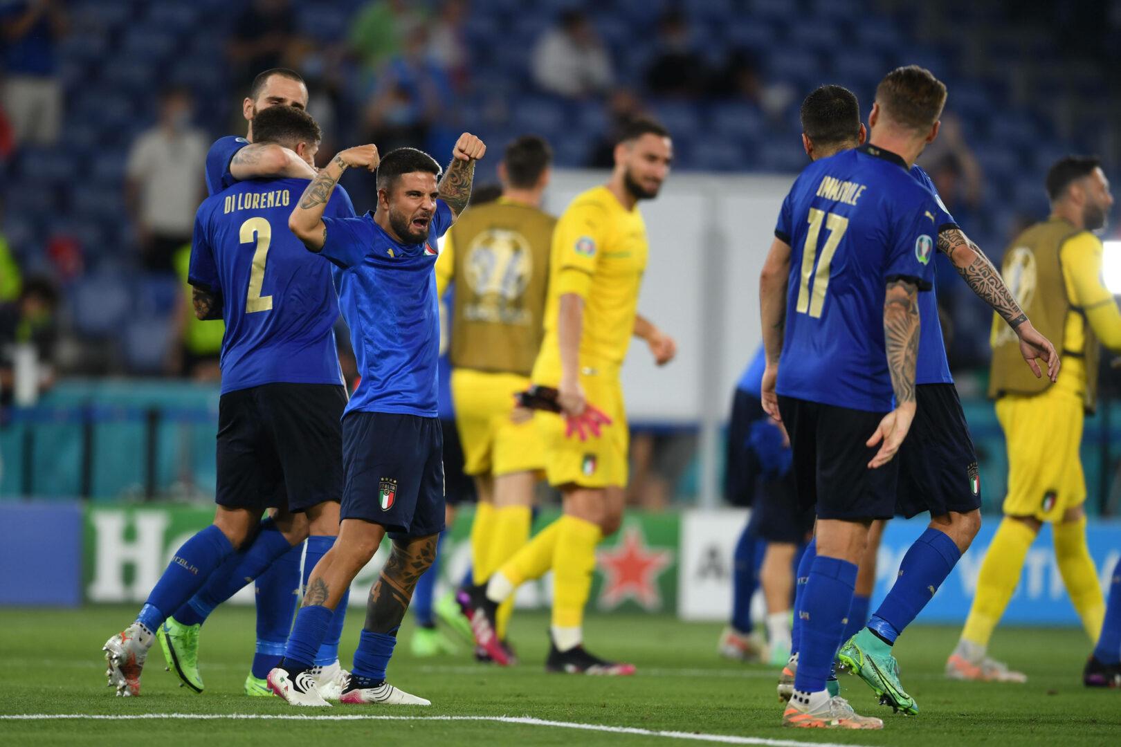 EM 2021 |Italien will mit Österreich die nächste Hürde nehmen
