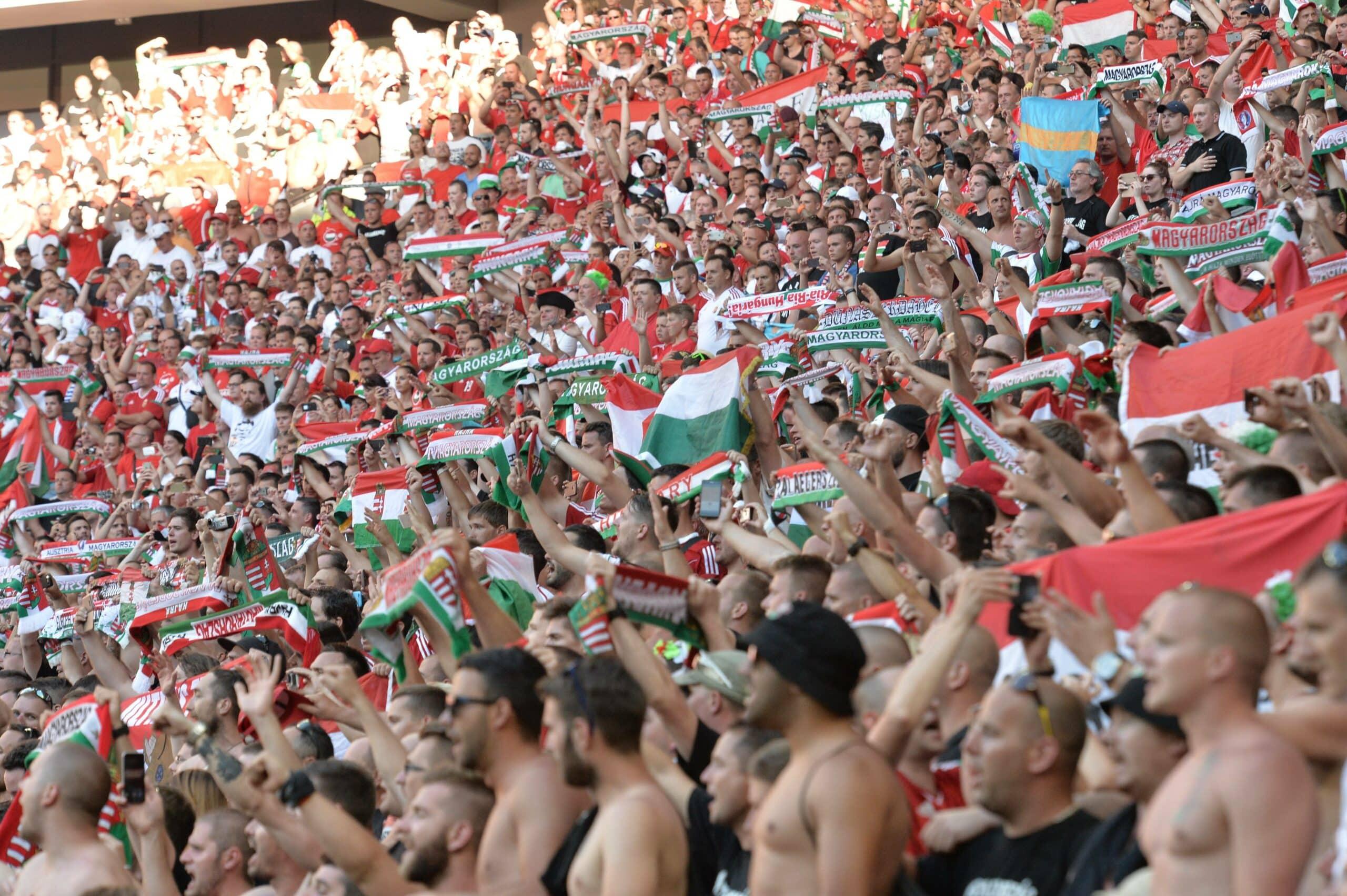 Ungarn Fans bei der EM