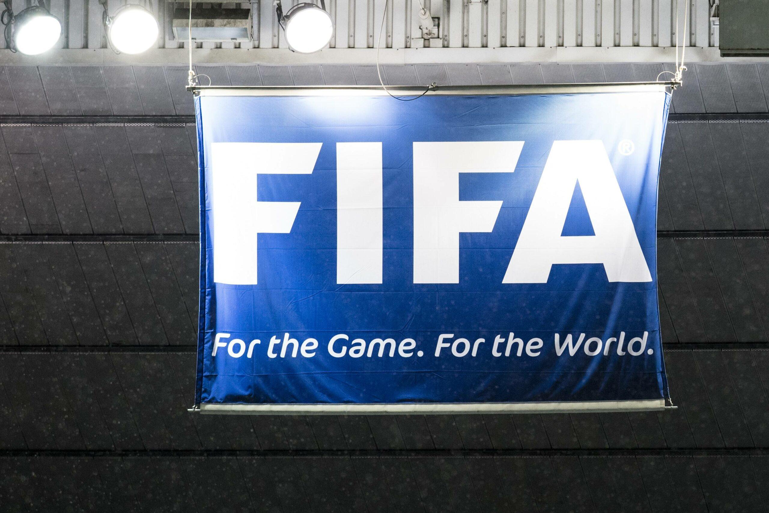FIFA Logo Flagge