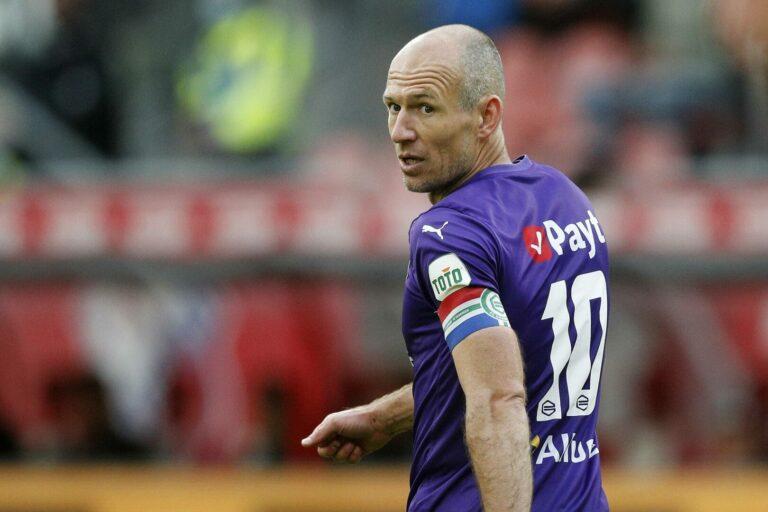Arjen Robben lässt Zukunft beim FC Groningen offen