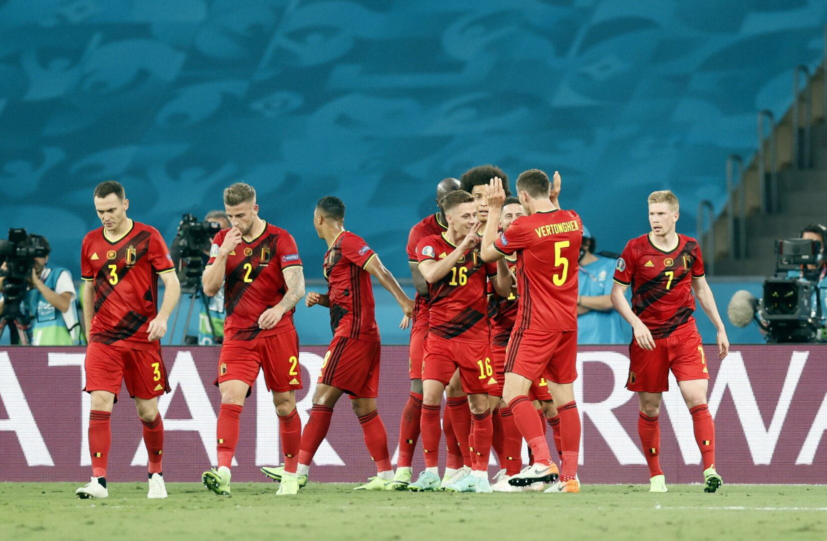 Belgien Portugal EM 2021