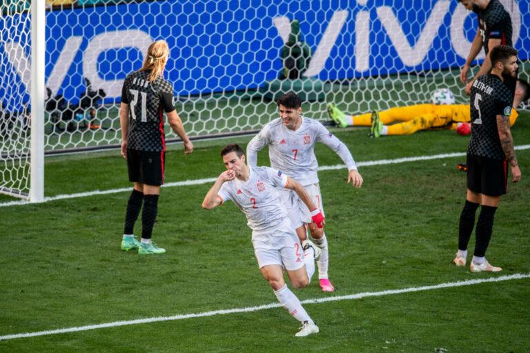 EM 2021   Kurioses Eigentor, wilde Partie: Spanien gewinnt nach Verlängerung gegen Kroatien