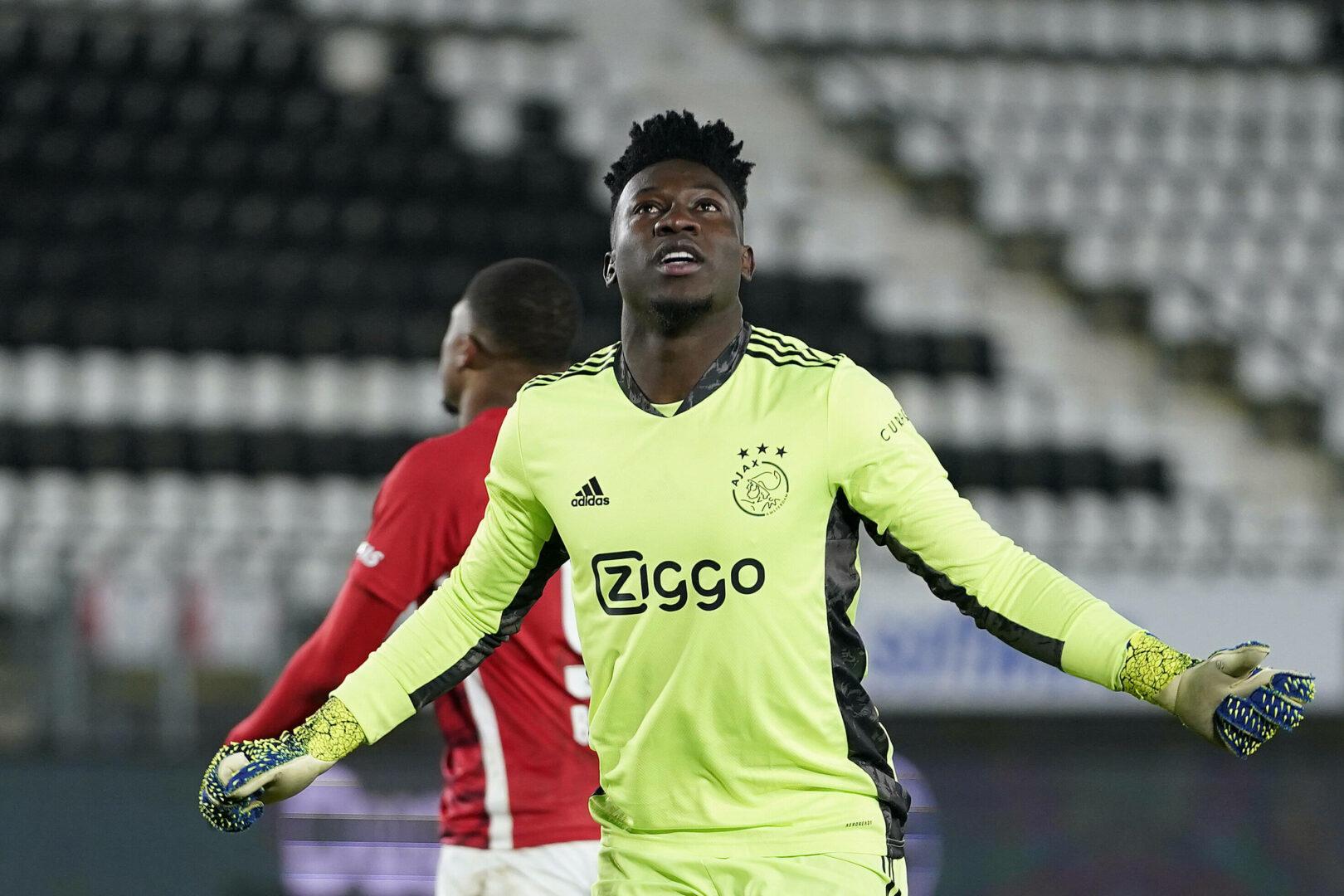 Inter: Ablösefreien Wechsel von Ajax-Keeper Onana im Blick