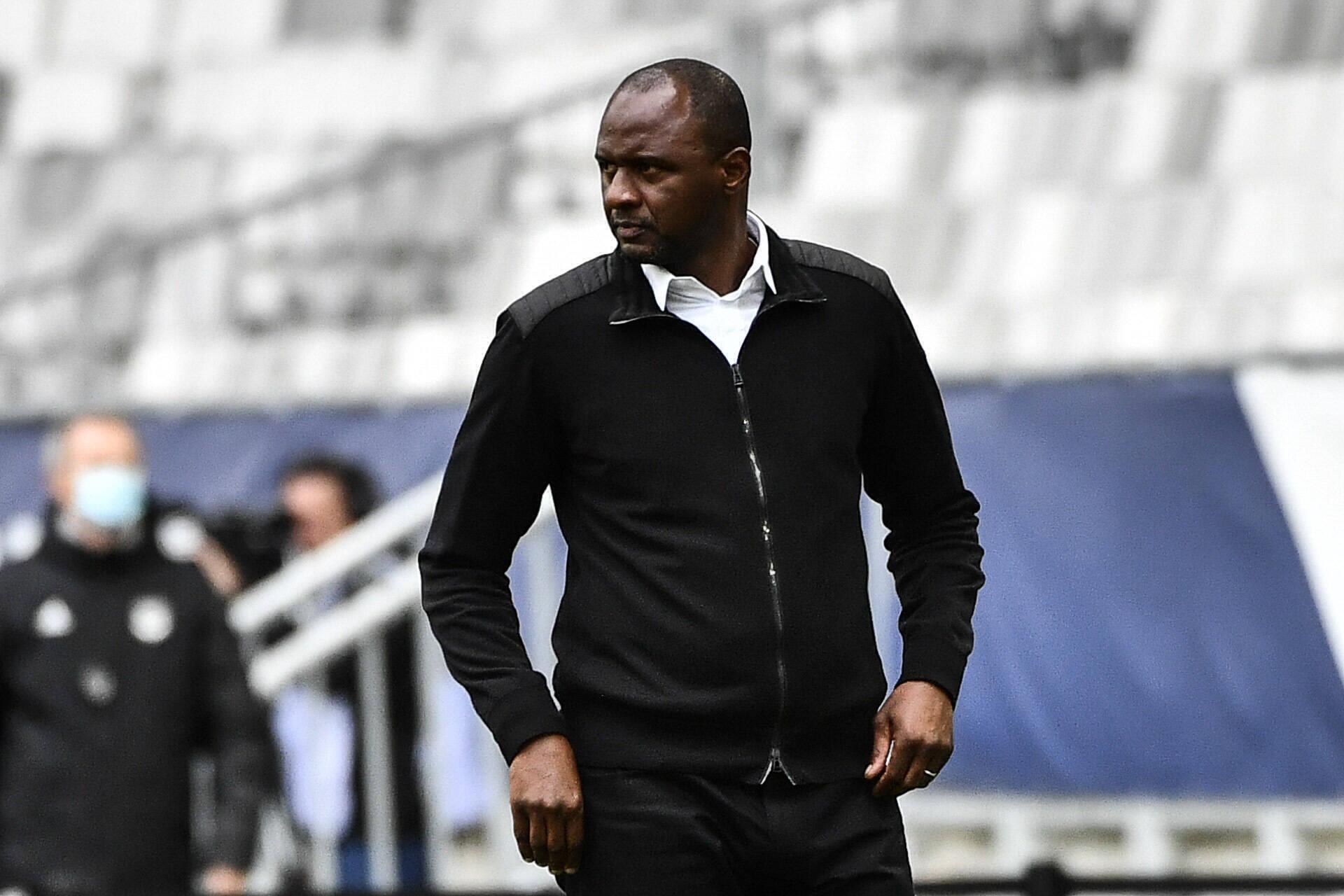 Patrick Vieira (Nizza) gegen Bordeaux