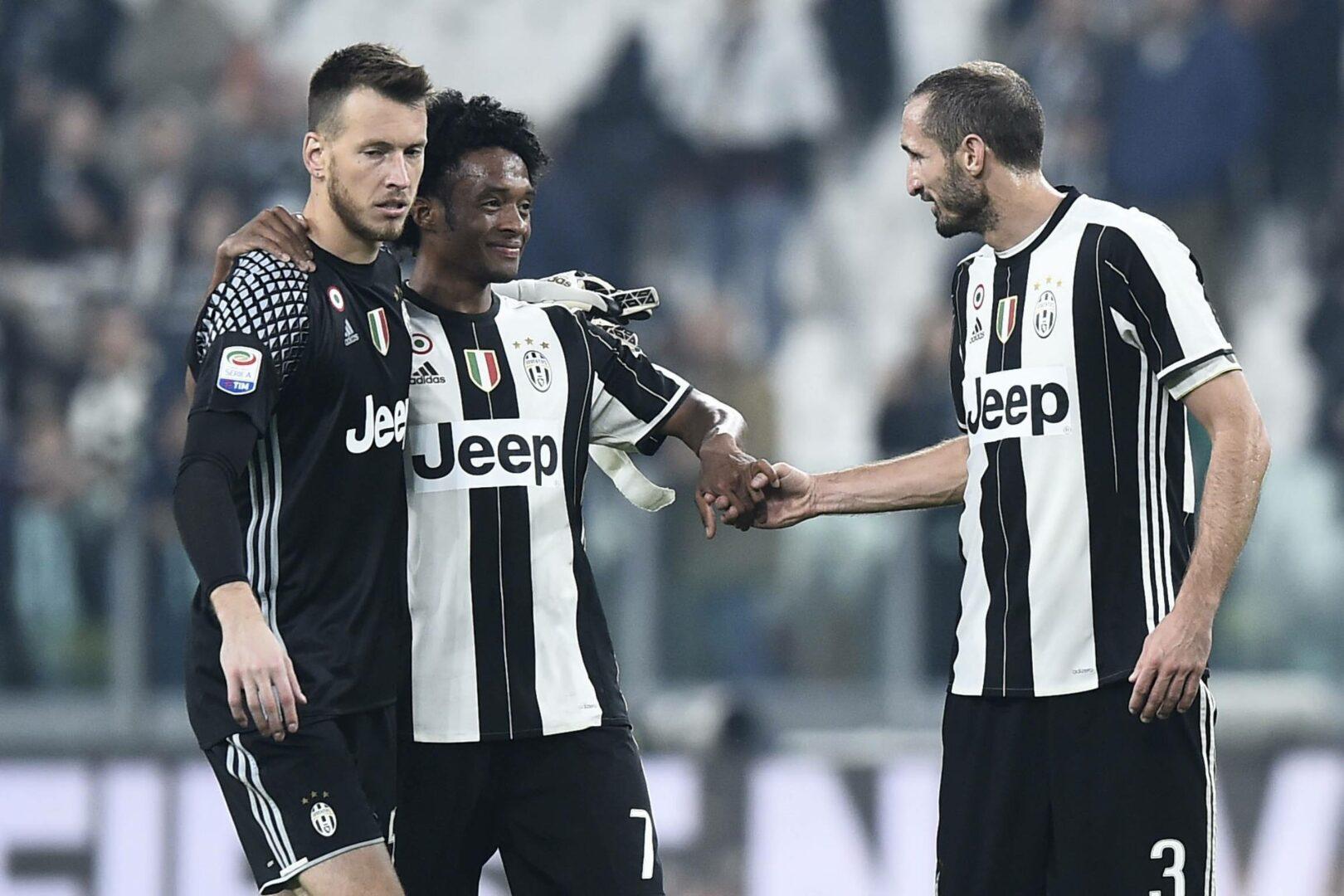 Juventus Cuadrado Chiellini
