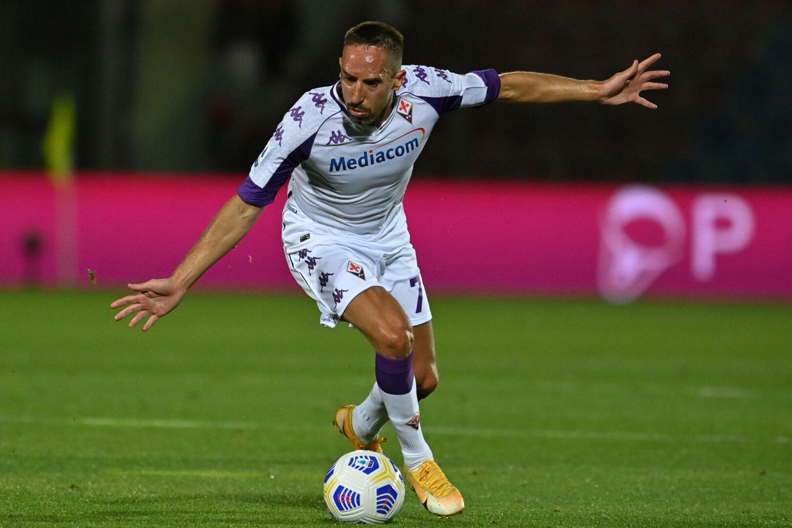 Nach zwei Jahren: Die Fiorentina verabschiedet Franck Ribery