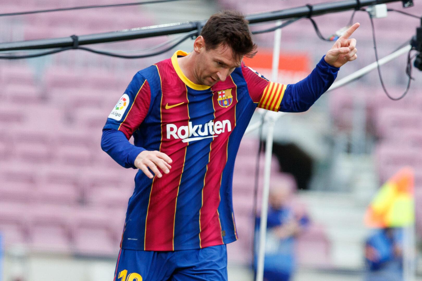 Barca   Treffen mit Liga-Präsident Tebas soll Messi-Verlängerung voranbringen