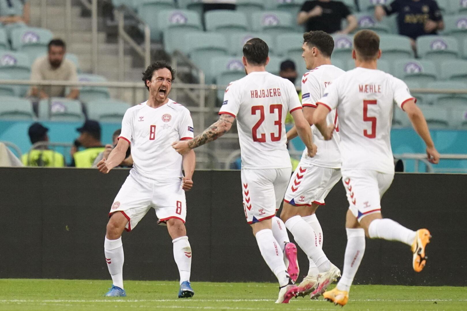 EM 2021: Dänemark siegt im unterhaltsamen Duell gegen Tschechien