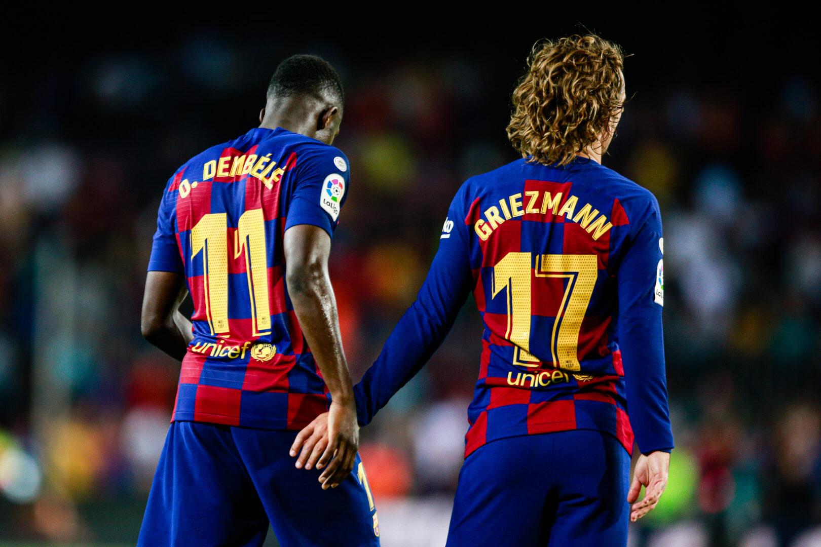 Rassismus-Eklat um Dembélé & Griezmann: FC Barcelona kündigt Konsequenzen an
