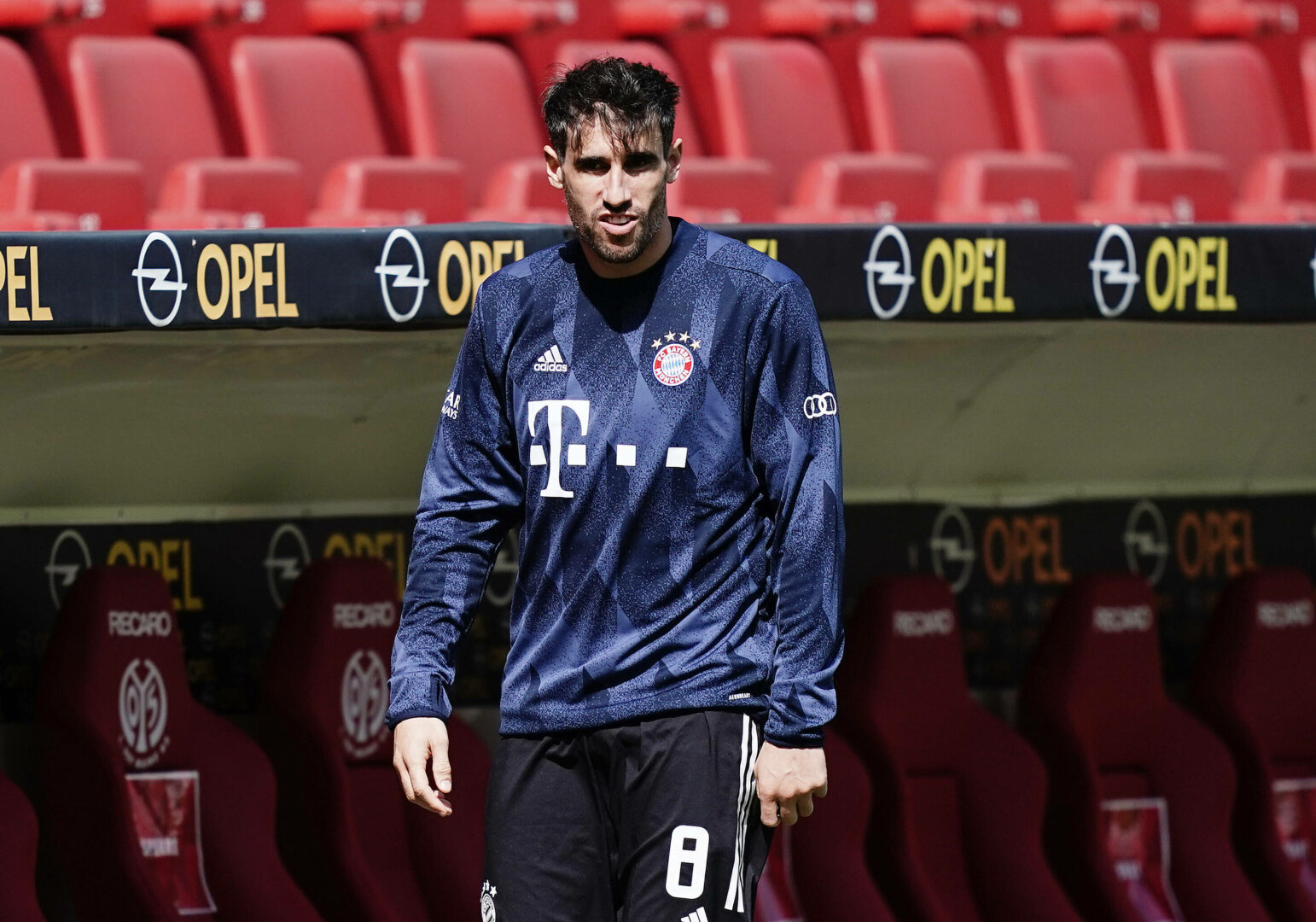 Javi Martinez (Bayern) gegen Mainz 05