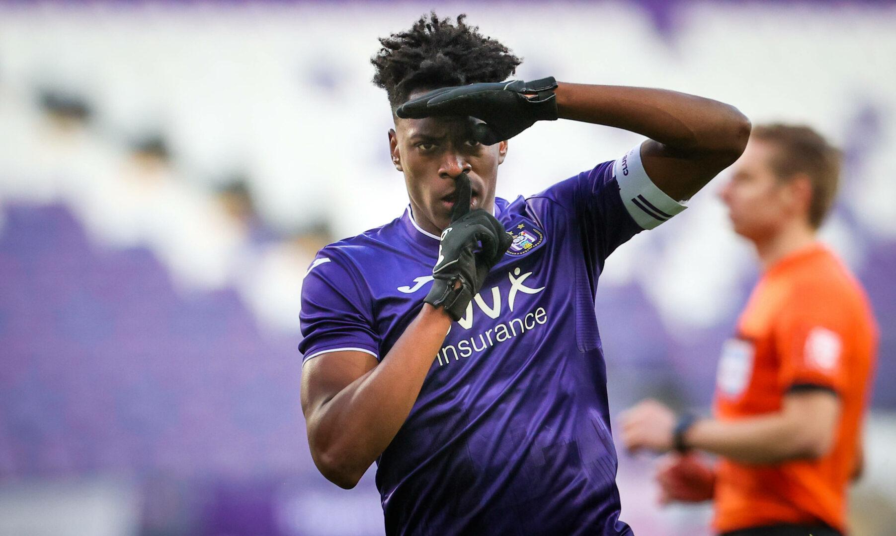 Bestätigt: Arsenal verpflichtet Albert Sambi Lokonga vom RSC Anderlecht