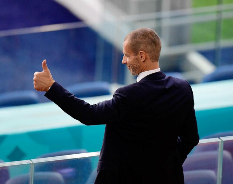 EM 2021   Ceferin weist Verantwortungen für Covid-Infektionen von der UEFA