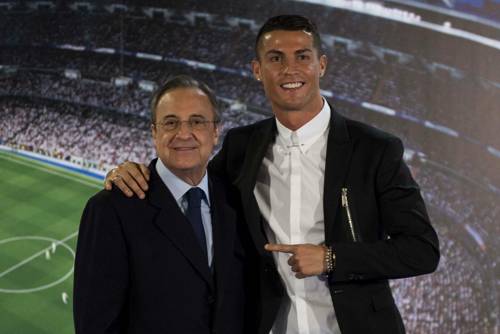 """Neue Aufnahmen – Real-Präsident Perez über Ronaldo: """"Er ist ein Idiot"""""""