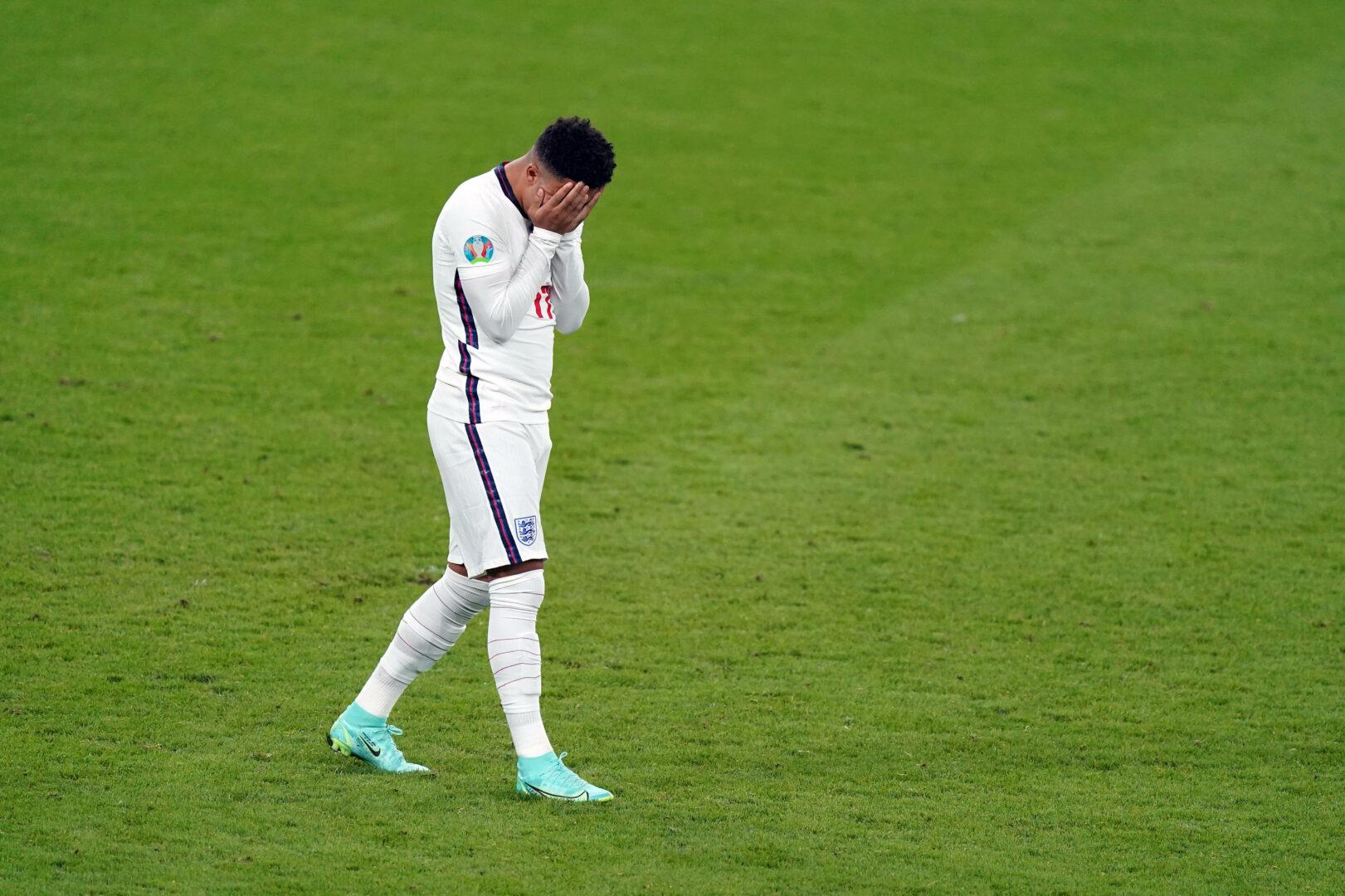 """""""Hass wird niemals gewinnen"""": Sancho-Statement zu Rassismusvorfällen nach EM-Finale"""