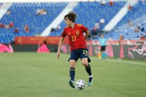 Bryan Gil wird vor seinem Wechsel zu Tottenham Spanien bei den Olympischen Spielen vertreten.
