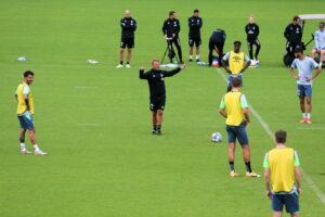 Markus Anfang (Werder) Training