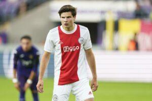 Ekkelenkamp (Ajax) Testspiel