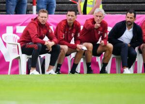 FC Bayern Staff Trainingsspiel