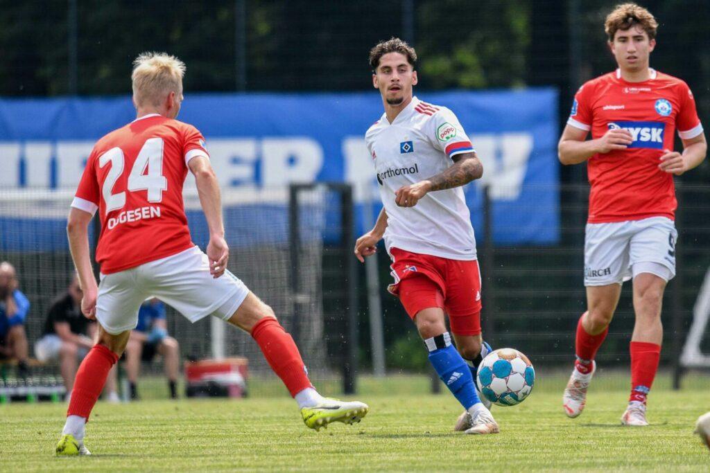 Ludovit Reis (HSV) gegen Silkeborg