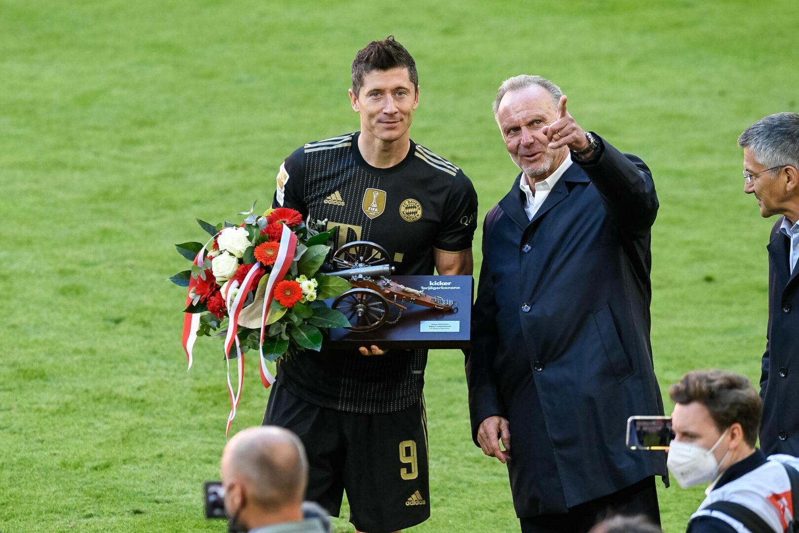 FC Bayern: Robert Lewandowski ist Deutschlands Fußballer des Jahres