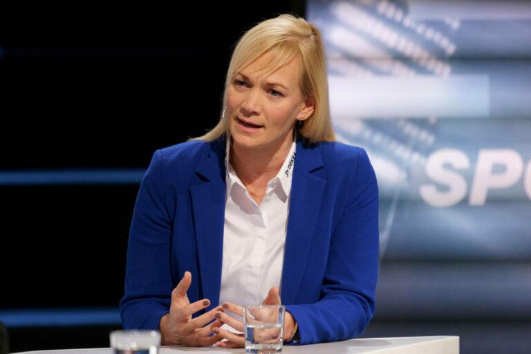 Als Teil einer Doppelspitze: Steinhaus soll DFB-Präsidentin werden